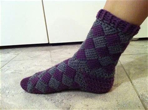 crochet pattern mens socks 30 creative crochet sock patterns patterns hub