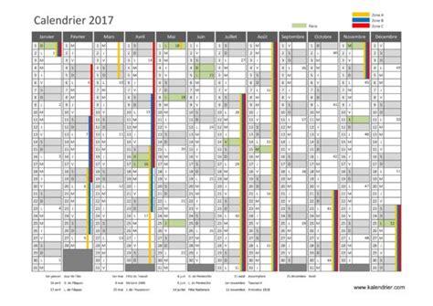 Calendrier 2017 Vacances Le Calendrier 2017 224 Imprimer Du Mod 233 Rateur