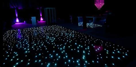 starlight led lights starlight twinkle led dancefloor 22ft x 20ft set black