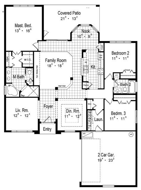 mediterranean style house plan 3 beds 2 baths 1250 sq ft mediterranean style house plan 3 beds 2 baths 1956 sq ft