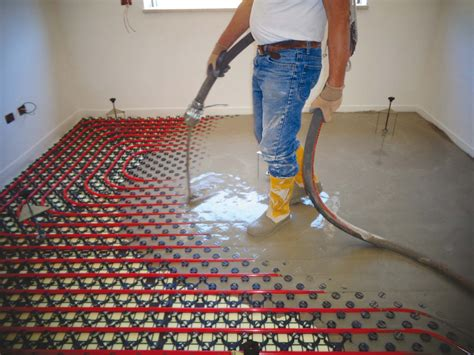 spessore massetto riscaldamento a pavimento slim il massetto radiante a basso spessore
