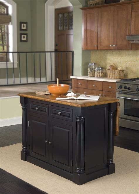 home styles monarch leg kitchen island