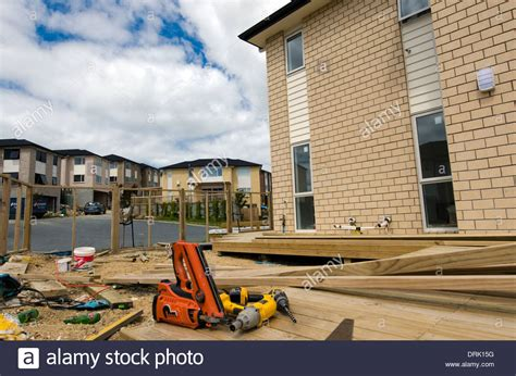 new house construction building stock photo image 63233514 working tools in new homes building site in auckland new