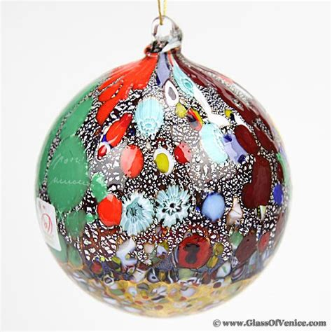venetian glass christmas ornaments princess decor