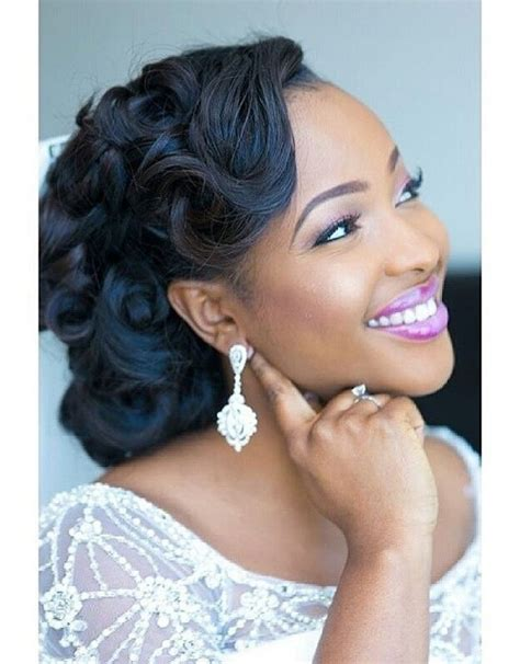cute pin up styles for african american natural hair 15 best great wedding hairstyles that black women can try