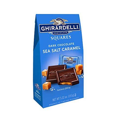 ghirardelli chocolate ghirardelli chocolate sea salt caramel calories