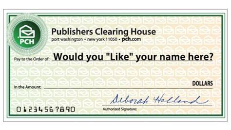 Publisher Clearing House Check - online sweepstakes my name and names on pinterest