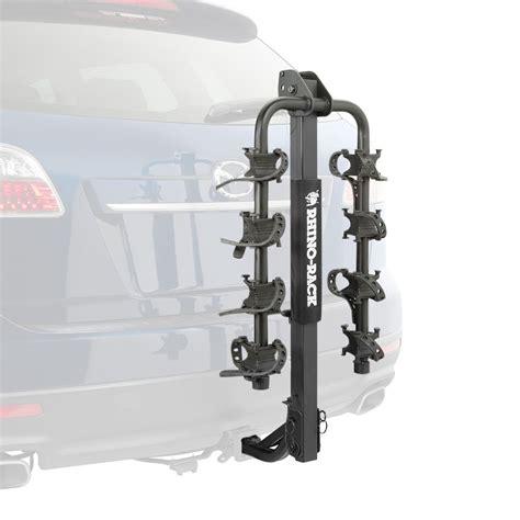 rhino rack 174 premium hitch mount bike carrier