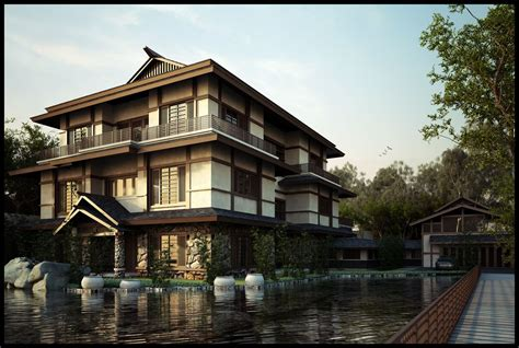 home design a japanese style house with pagoda roof in asian style architecture designing a japanese style