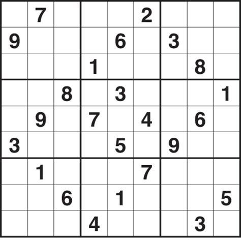 Sudoku 2 739 Medium Life And Style The Guardian
