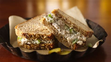 Unique Fruit Bowl chicken salad sandwiches recipe bettycrocker com