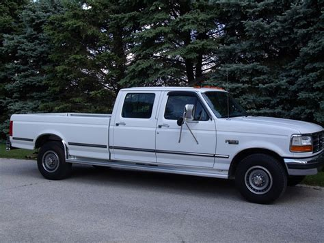1994 ford f350 hoxrok 1994 ford f350 crew cablong bed specs photos