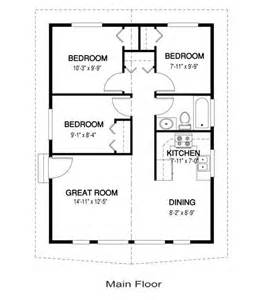 Small Home Design One Floor Yes You Can A 3 Bedroom Tiny House 768 Sq Ft One For