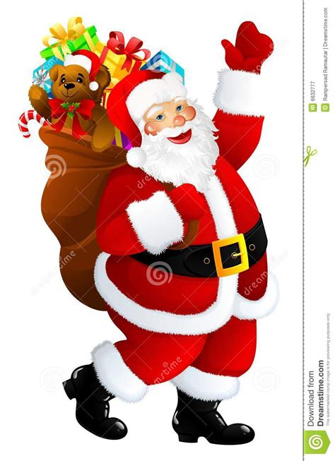 imagenes santa claus diabolico weihnachtsmann stock abbildung bild von geschenk