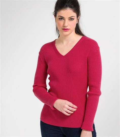 Sweater V Neck 30 rich 30 silk 70 cotton womens silk and cotton v neck ribbed sweater