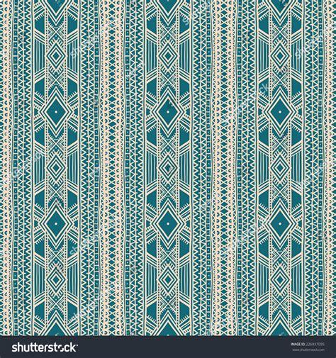 Tribal Stripes Green beautiful tribal striped beige green ornament stock vector 226937095