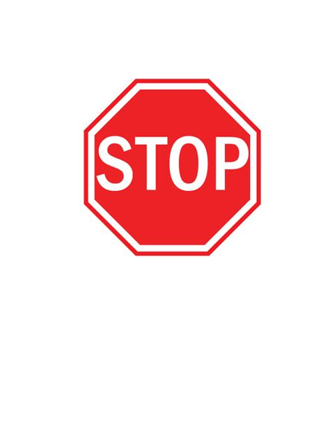 stop sign template stop sign template free clip free clip