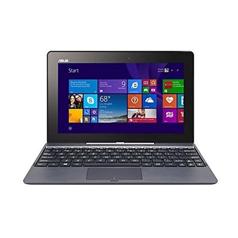 Laptop Asus Transformer Touchscreen asus transformer t100taf b12 gr 2 in 1 10 1 inch touchscreen display