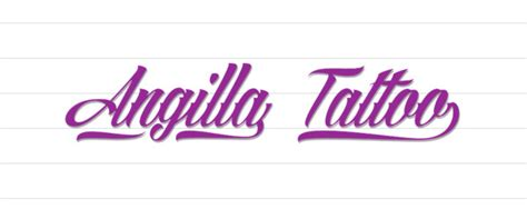 angilla tattoo font cool fonts 25 free calligraphy fonts