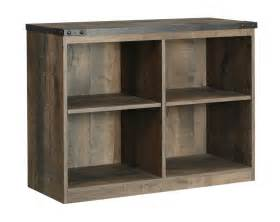 Loft Bookshelves Trinell Brown Loft Bookcase B446 17 Bookcase Derailed Commodity