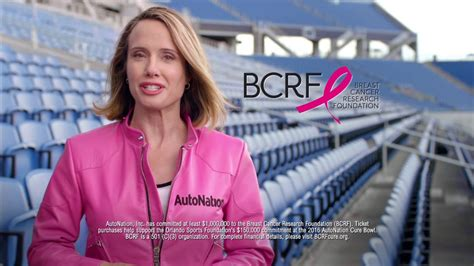 kayak commercial blonde autonation lady autonation drives pink to the cure bowl