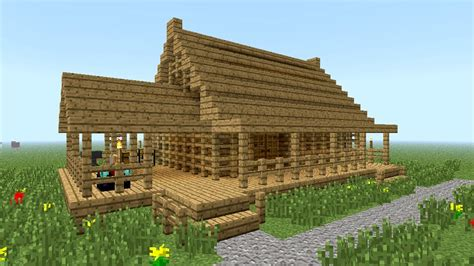 minecraft how to build wooden house