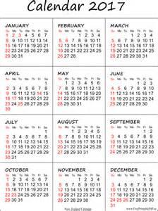 Calendar 2018 Printable Nz New Zealand 2017 Calendar Printable Free Printable Pdf