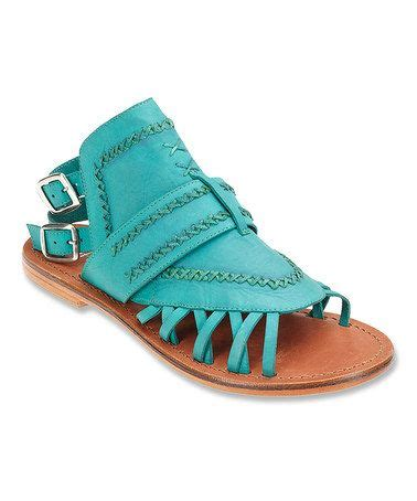 Sandal Fashion Import 42 coconuts by matisse turquoise tourist leather sandal