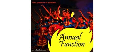 annual function invitation card template invitation card format for college annual function image
