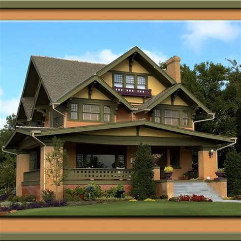 craftsman homes craftsman houses pinterest