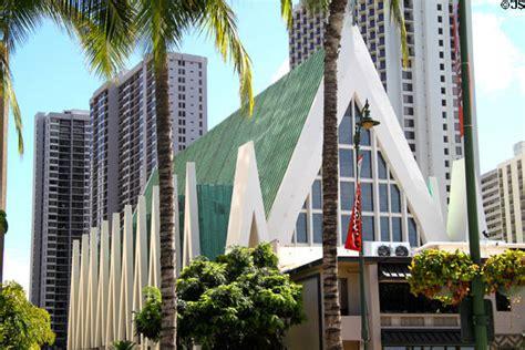 Modern Buildings St Augustine By The Sea Catholic Church Waikiki Hi