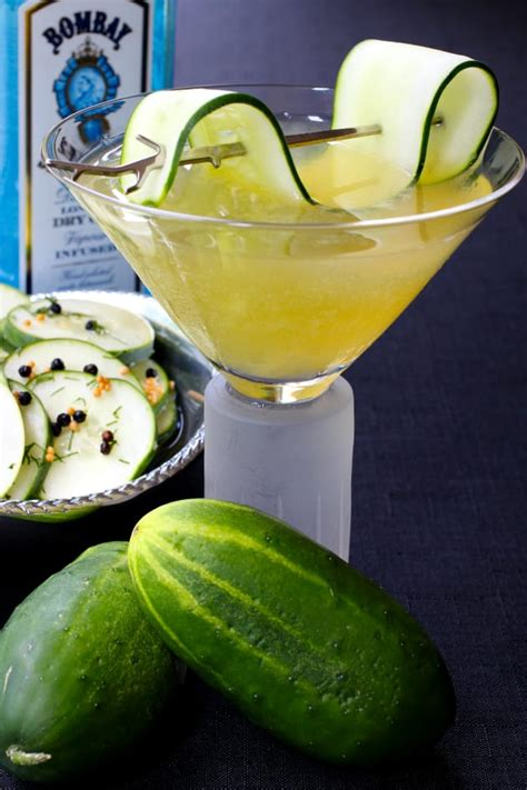 martini cucumber cucumber gin martini food fanatic