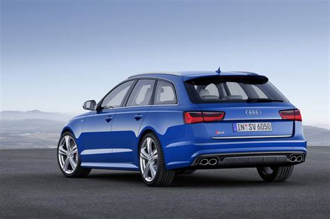 Facelift Audi A6 by Audi Unveils 2015 A6 Facelifted Range Speed Carz