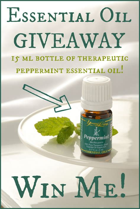 Essential Oil Giveaway - everyday essential oils peppermint butter believer