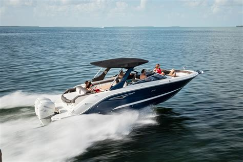 sea ray boat trader four great outboard powered bowriders for 2017 boat