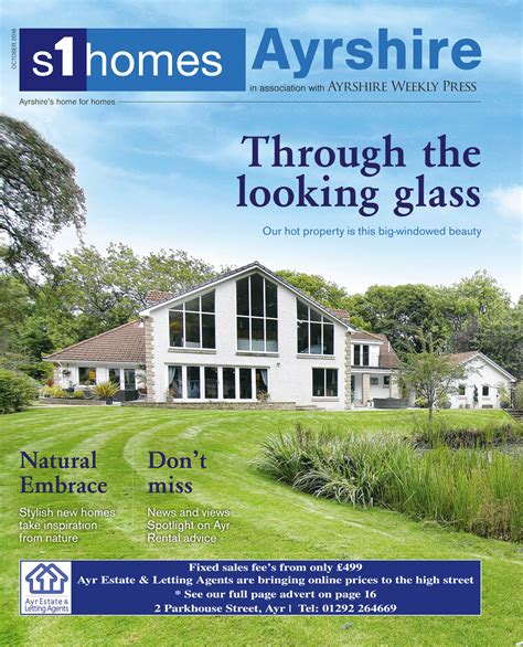 s1homes ayrshire magazine out now s1homes