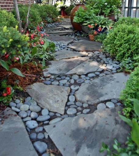 28 Best Images About Walkways On Pinterest Backyard River Rock Gardens