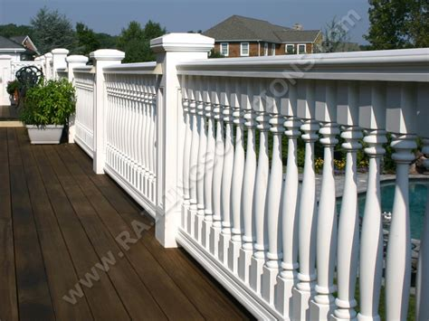 porch banister premium railing and baluster systems for deck porch and