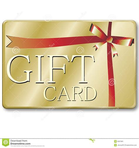Gift Card Images Stock - gift card stock image image 9297681