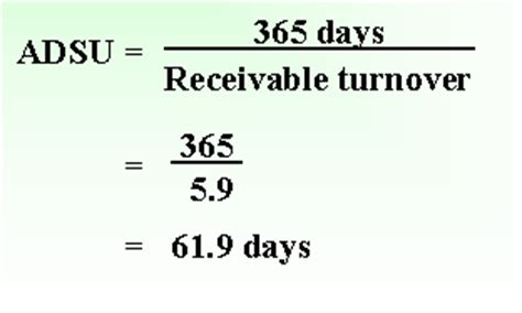 Credit Turnover Days Formula Average Days Sales Uncollected Accounting Education