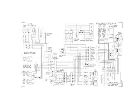 kenmore commercial freezer wiring diagram get free image