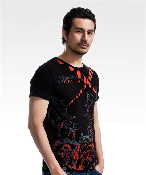 Ink T Shirt Mens by Black Assassin S Creed Ink Mens T Shirts Cool Wishining
