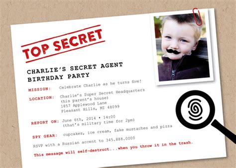 Cool Room Designs For Girls party invitations secret agent at minted com