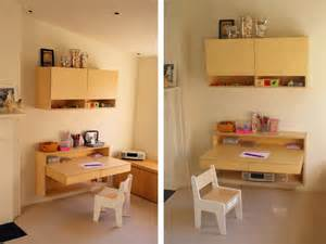 Kid Room Ideas For Small Spaces - wall mounted desks