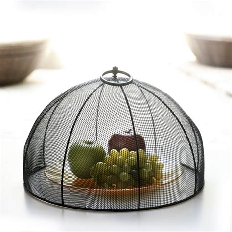 Mesh Food Cover mesa home mesh dome food cover with flip ring