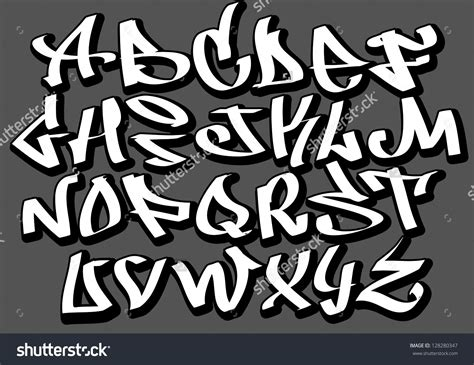 street fonts graffiti alphabets stock vector graffiti font alphabet letters hip hop type grafitti design 128280347 jpg 1500