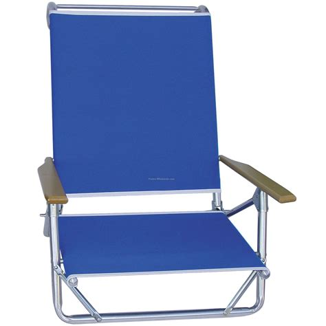 beach recliner deluxe 4 position beach recliner chair made in usa