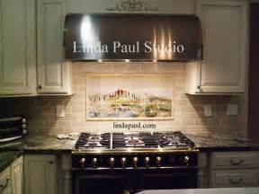 tuscan kitchen backsplash tuscan tile murals kitchen backsplashes tuscany tiles