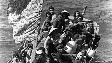 vietnamese boat stories vietnamese americans share stories of struggle for uci