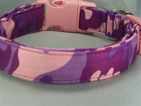 pink camo collar pink and purple camouflage collar